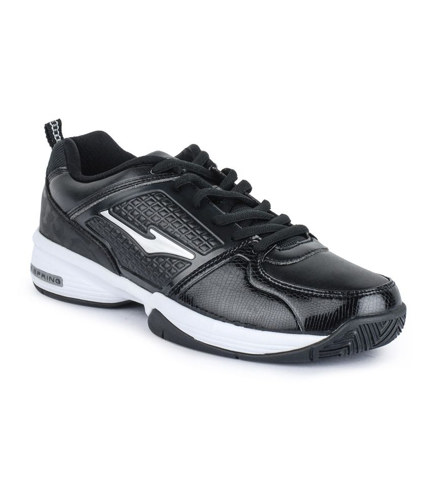 Erke Black Running Sport Shoes