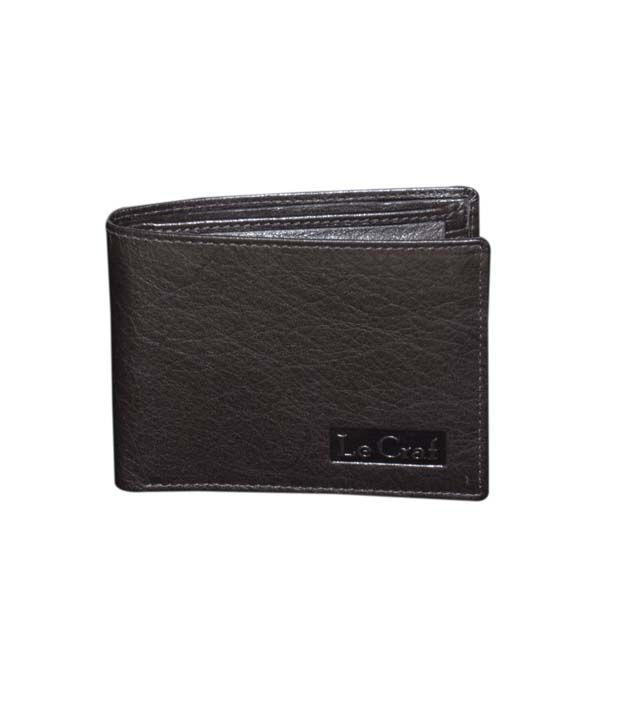 Le Craf Caesar Dark Brown Stylish Men's Wallet