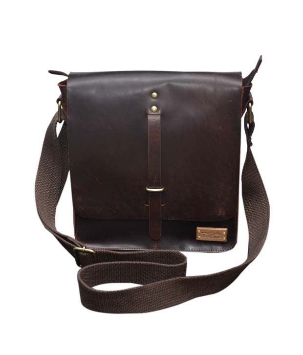 Le Craf Leander Brown Stylish Messenger Bag