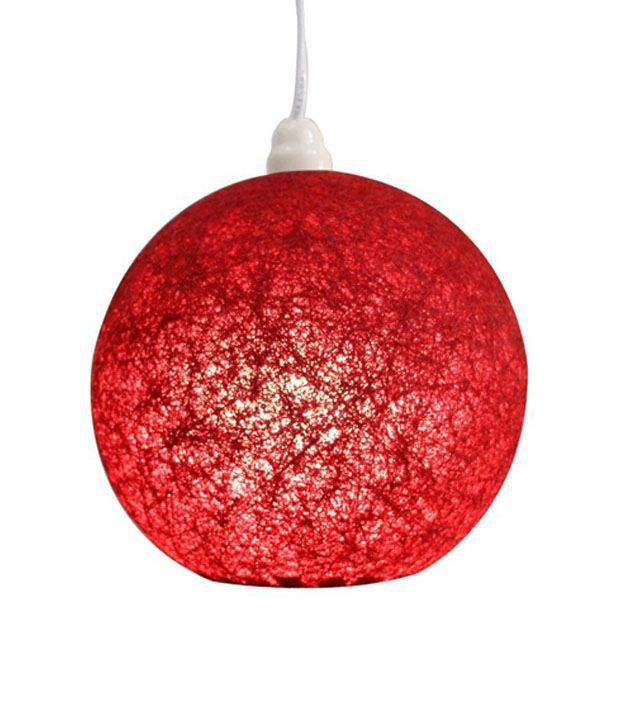 SPECTRAHUT Hanging Pendant Ceiling Lamp Red Buy