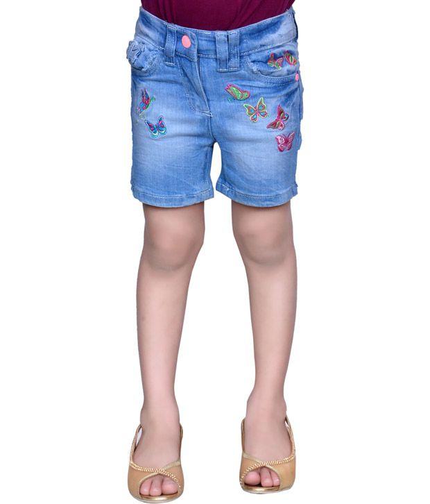 Tiny Toon Sky Blue Denim Shorts