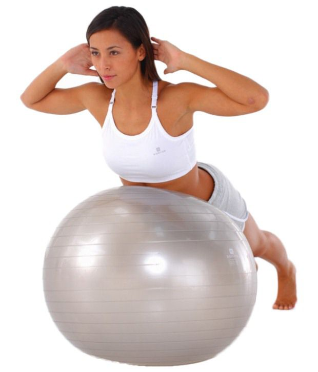 Domyos Silver Gym Ball 65Cm