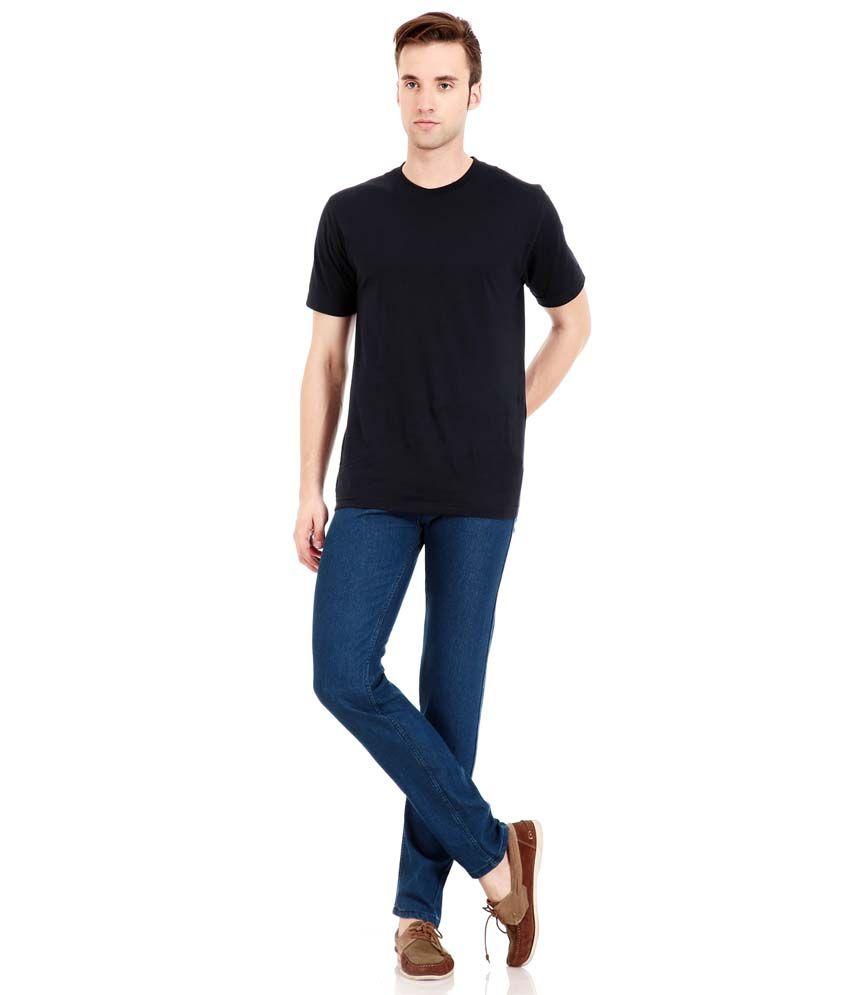 Flyjohn Men's Light Blue Denim Jeans - Buy Flyjohn Men's Light ...
