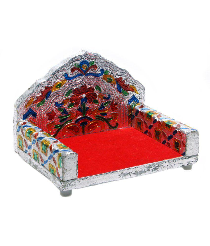 R k trading agency silver singhasan home decor buy r k for K decorations trading