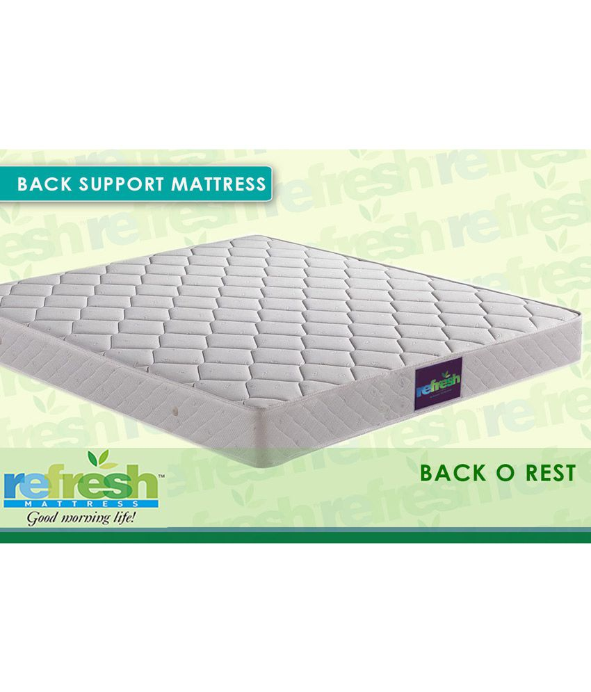refresh back o rest orthopedic mattress buy refresh back o rest
