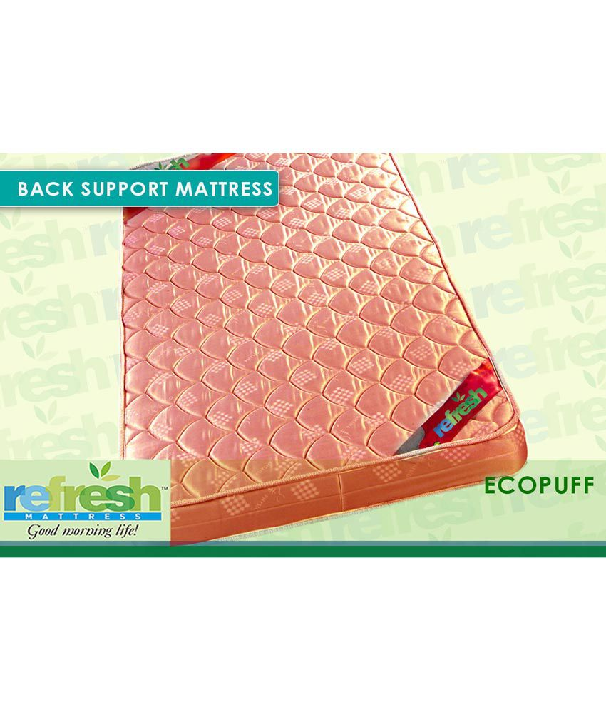 refresh eco puff orthopedic mattress buy refresh eco puff