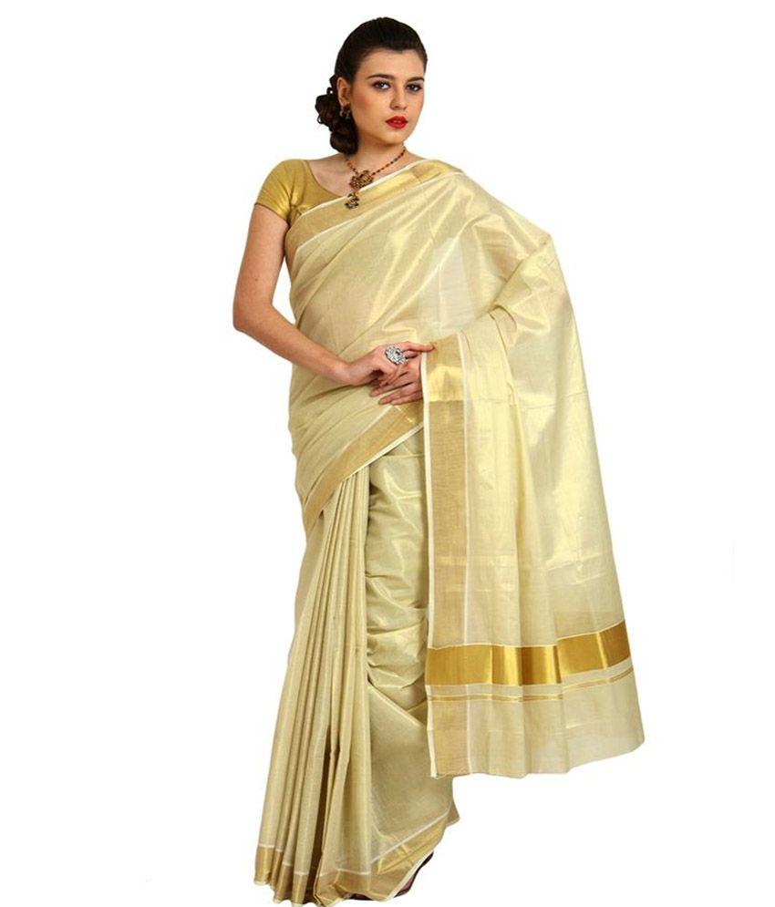 4566848cfc8 Valluvanad Manufacturing And Marketing LLP Multi Color Cotton Kasavu Saree  - Buy Valluvanad Manufacturing And Marketing LLP Multi Color Cotton Kasavu  Saree ...