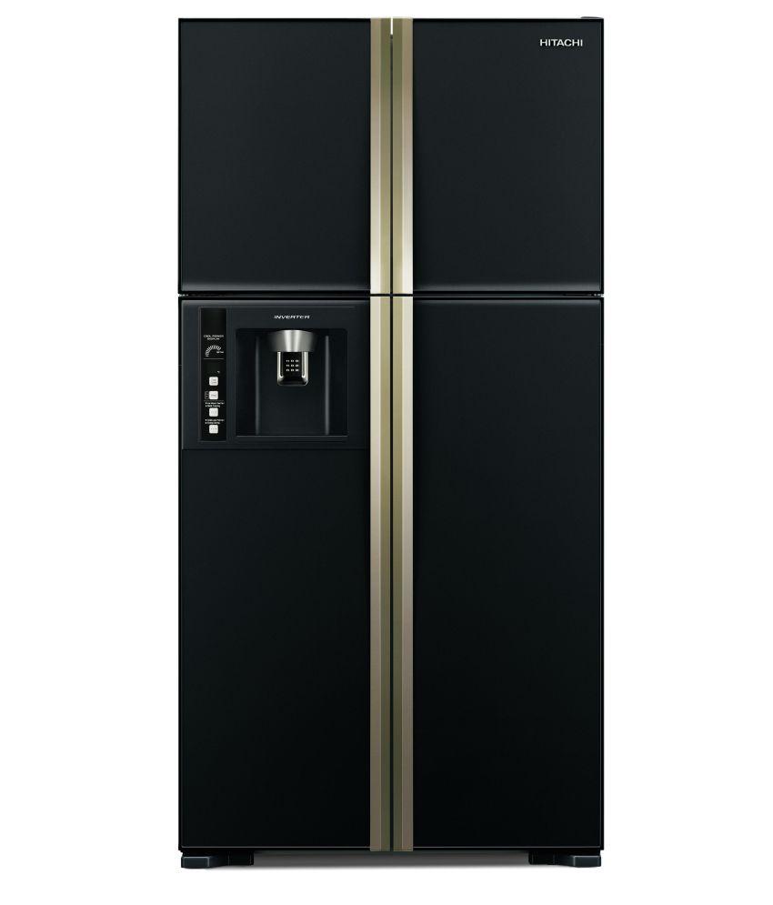 hitachi 586 ltrs rw 660 pnd3 frost free side by side door. Black Bedroom Furniture Sets. Home Design Ideas