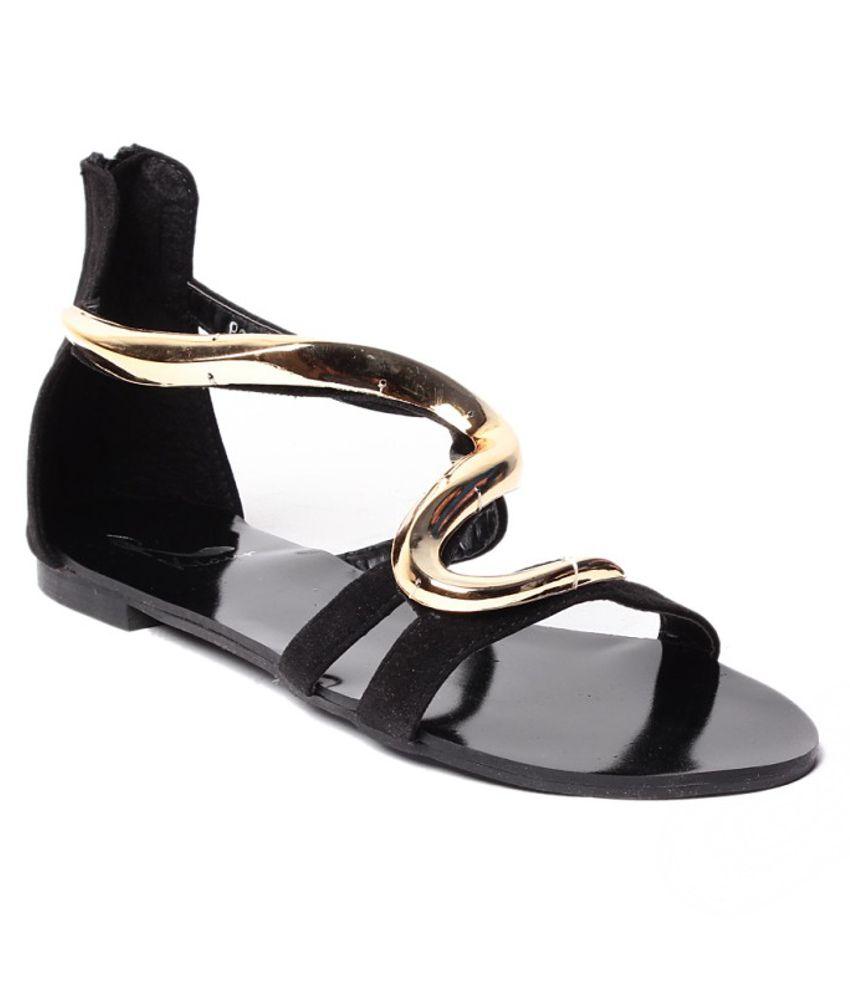 Klaur Gorgeous Black Sandals