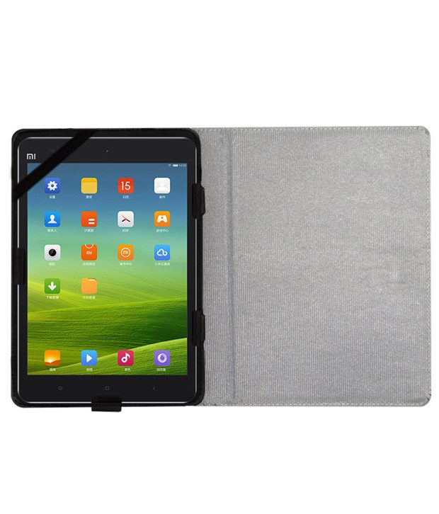 ACM Leather Flip Flap Tablet Holder Carry Case Stand Cover For Xiaomi Mi-pad Black