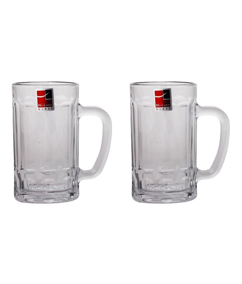 Hi Luxe Delta Beer Mug - Set Of 2: Buy Online at Best Price in India ...