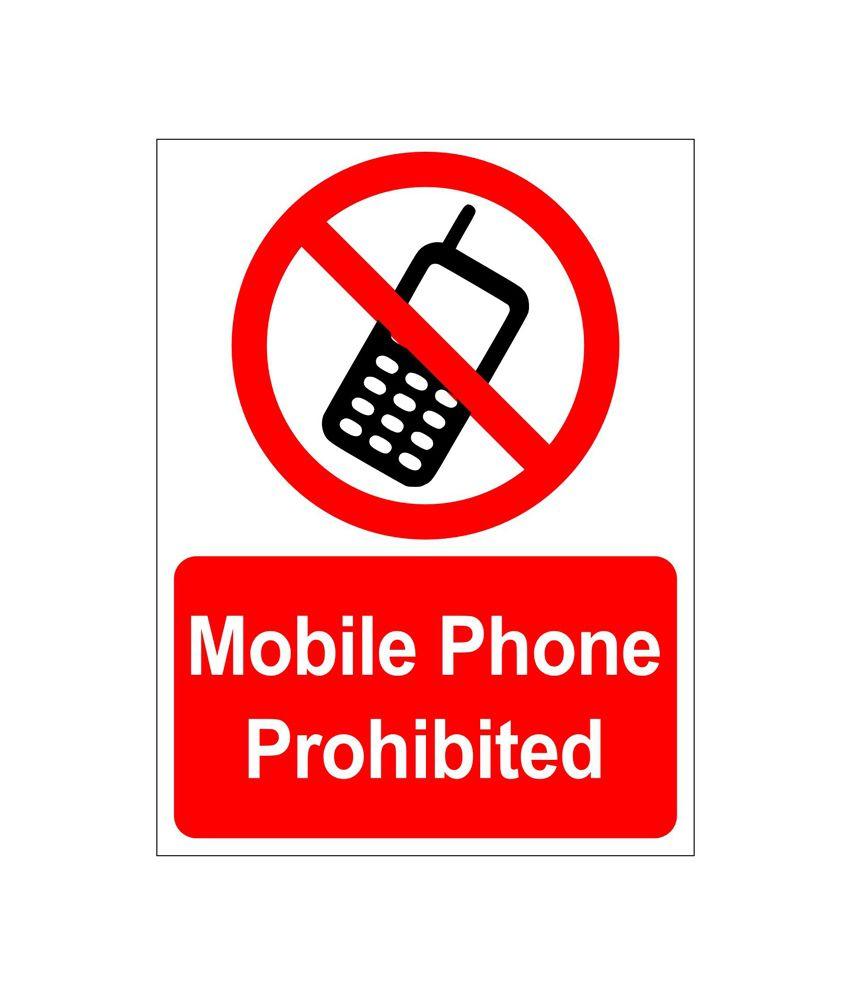 clickforsigncom mobile phones prohibited sign board buy