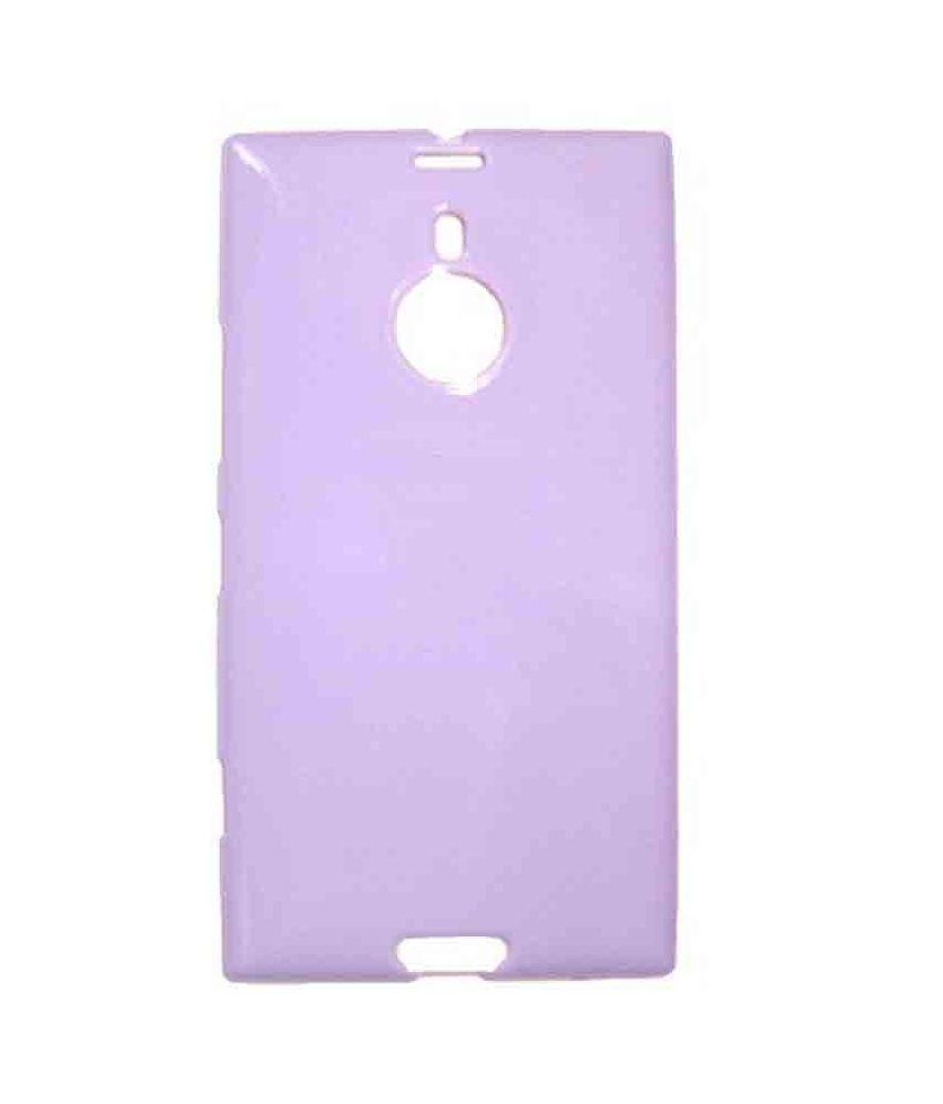Casotec Soft TPU Back Case Cover for Nokia Lumia 1520 - Light Purple
