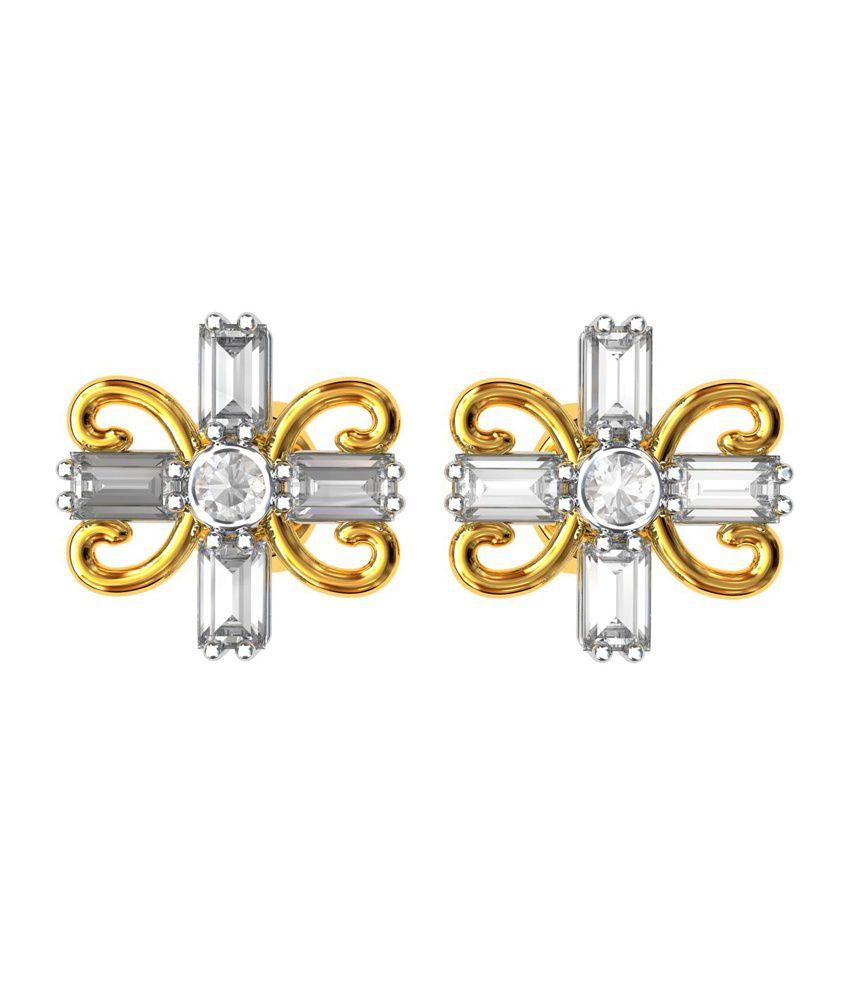 Bluecarats 18k Gold Bis Hallmark Diamond Gemstone Certified