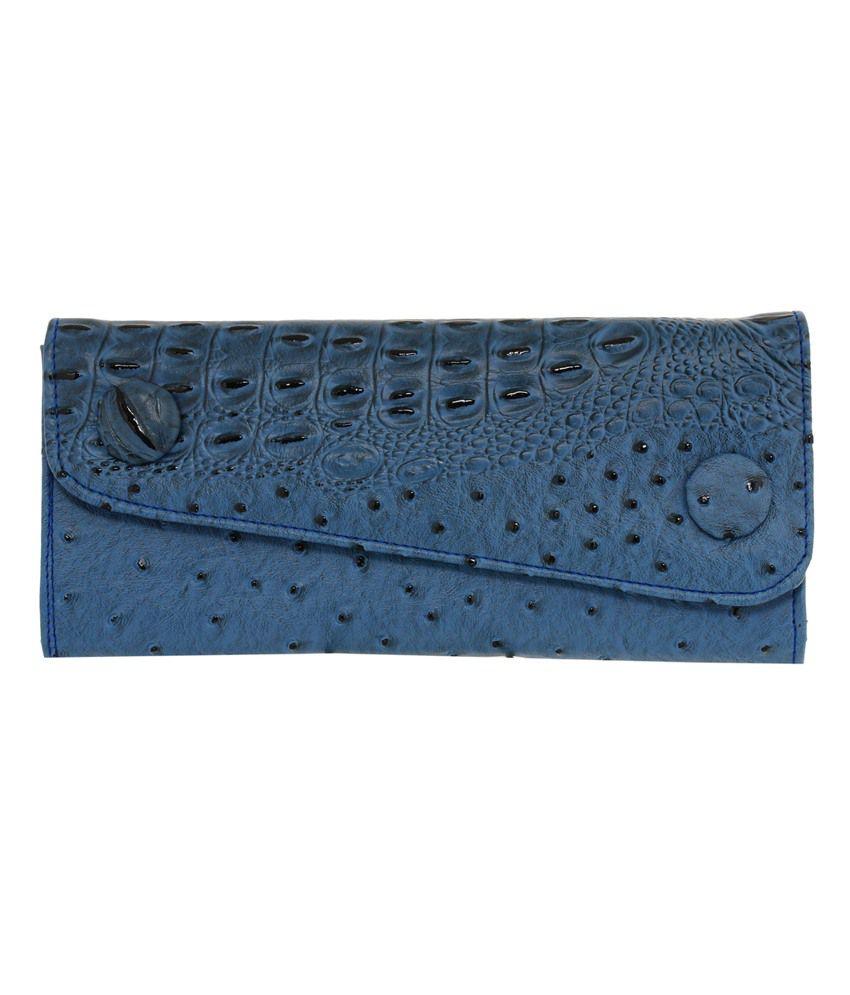 Meridian Blue Wallet