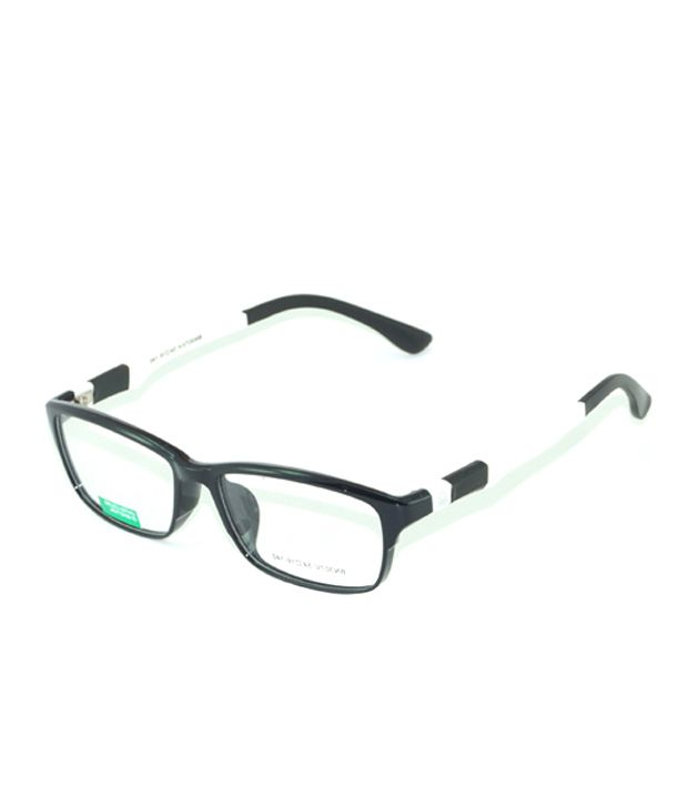 UCB Black & White Non Metal Benetton Frame - Buy UCB Black & White ...