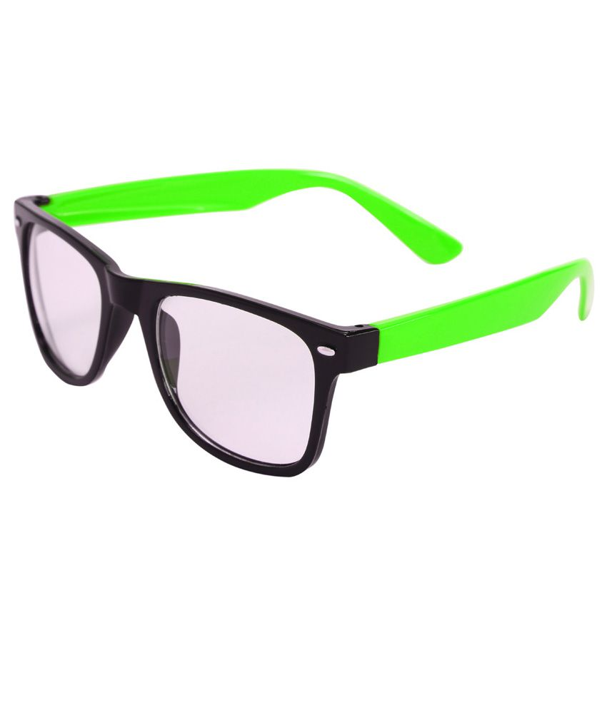 Glasses Frame Turning Green : Camerii Green Wayfarer Style Frames - Buy Camerii Green ...