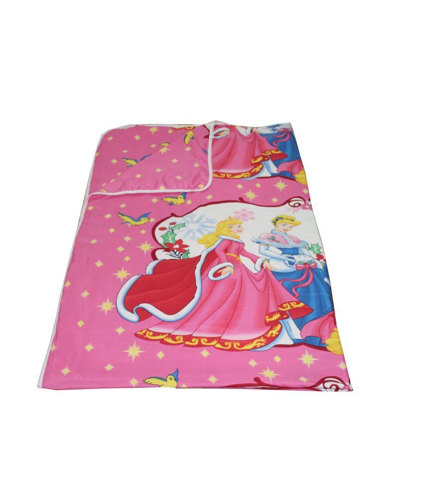 Renown Beautiful Princess Print Print Ac Dohar / AC Blanket/Dohar
