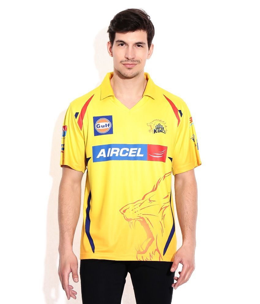 Chennai Super Kings Official Fan Jersey