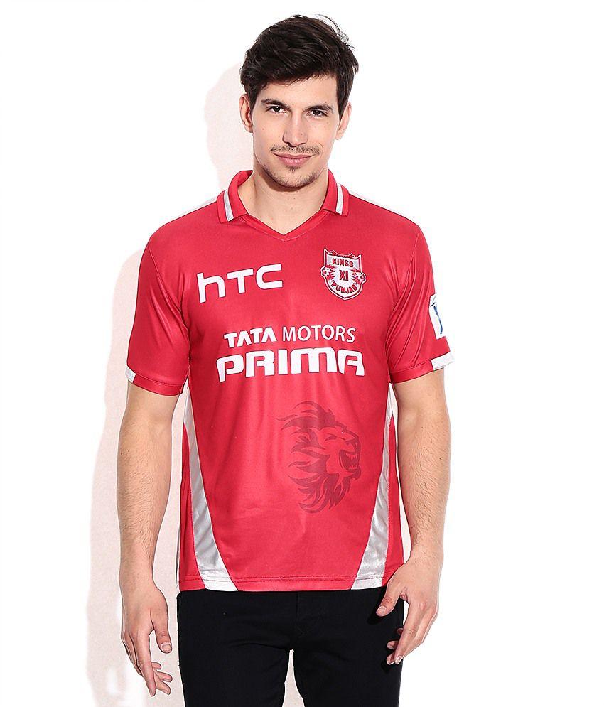 IPL T20 Kings XI Punjab Official Fan Jersey