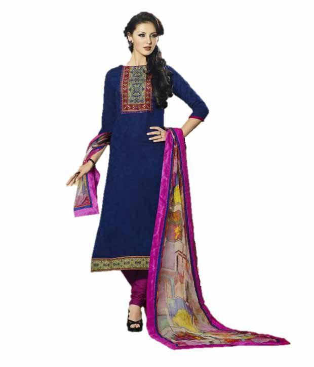 b2fe509a50 Sahiba Mangalgiri Cotton Anarkali Salwar Suit - Buy Sahiba Mangalgiri Cotton  Anarkali Salwar Suit Online at Low Price - Snapdeal.com