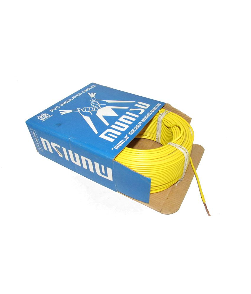 Buy Munisu Yellow House Wires Online at Low Price in India - Snapdeal