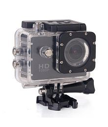 Yolodesi Sports Action Camera 12 Megapixel With Wifi Black