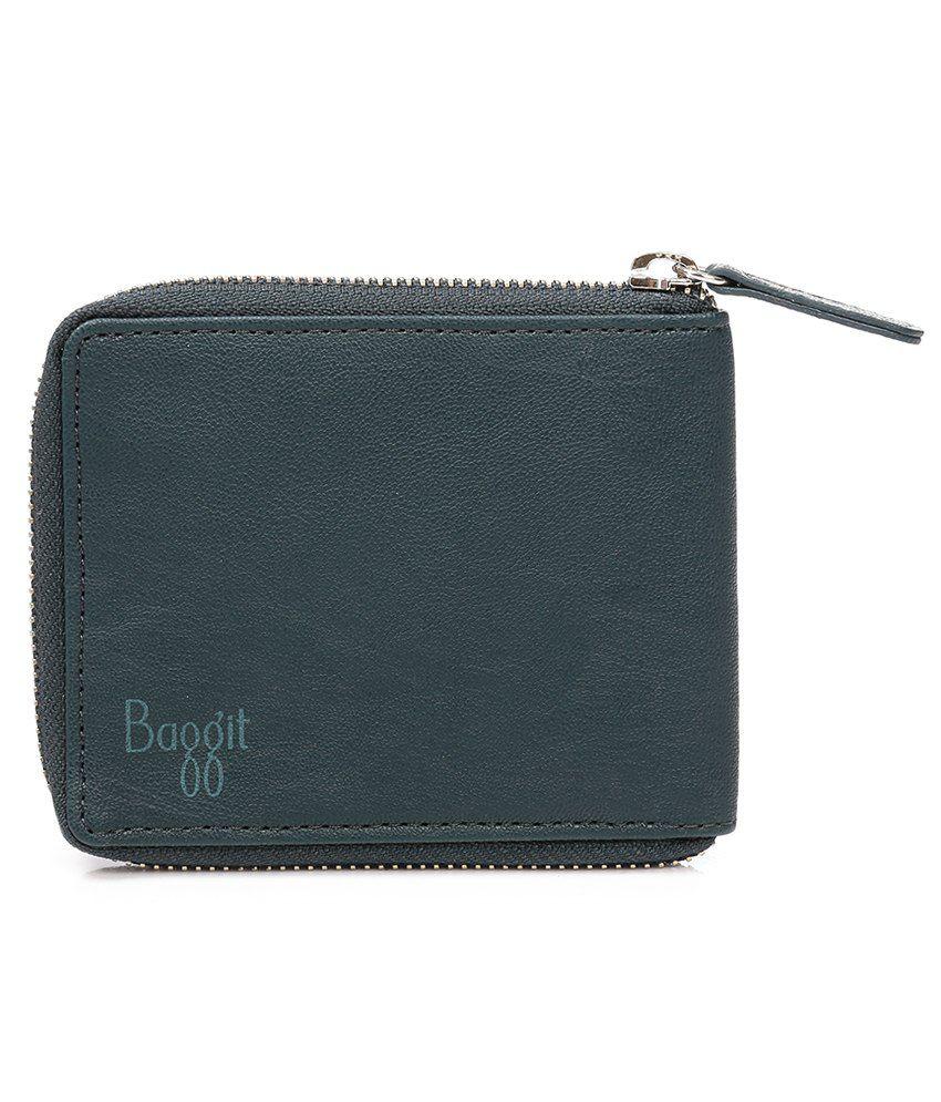 Baggit Men Casual Blue Wallet