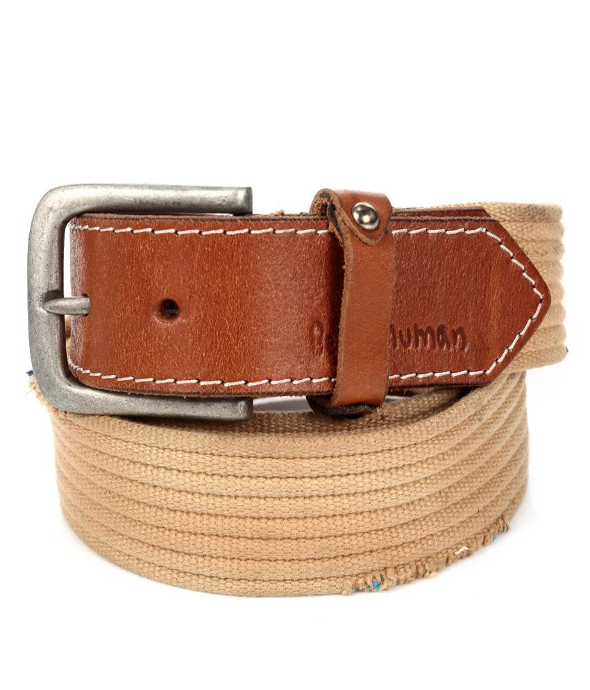 c9149f84ccd Being Human Beige Belt  Buy Online at Low Price in India - Snapdeal