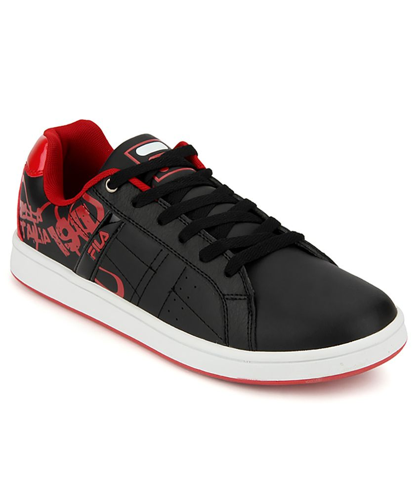 9dbb49305295 Fila Black Sneaker Shoes - Buy Fila Black Sneaker Shoes Online at Best  Prices in India on Snapdeal