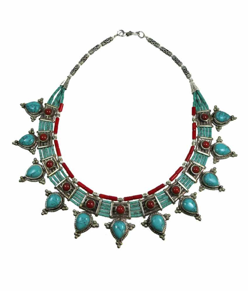 Chhayamoy Multi-color Contemporary Tibetan Necklace