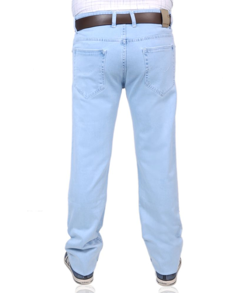 Color Hunt Ice Blue Jeans