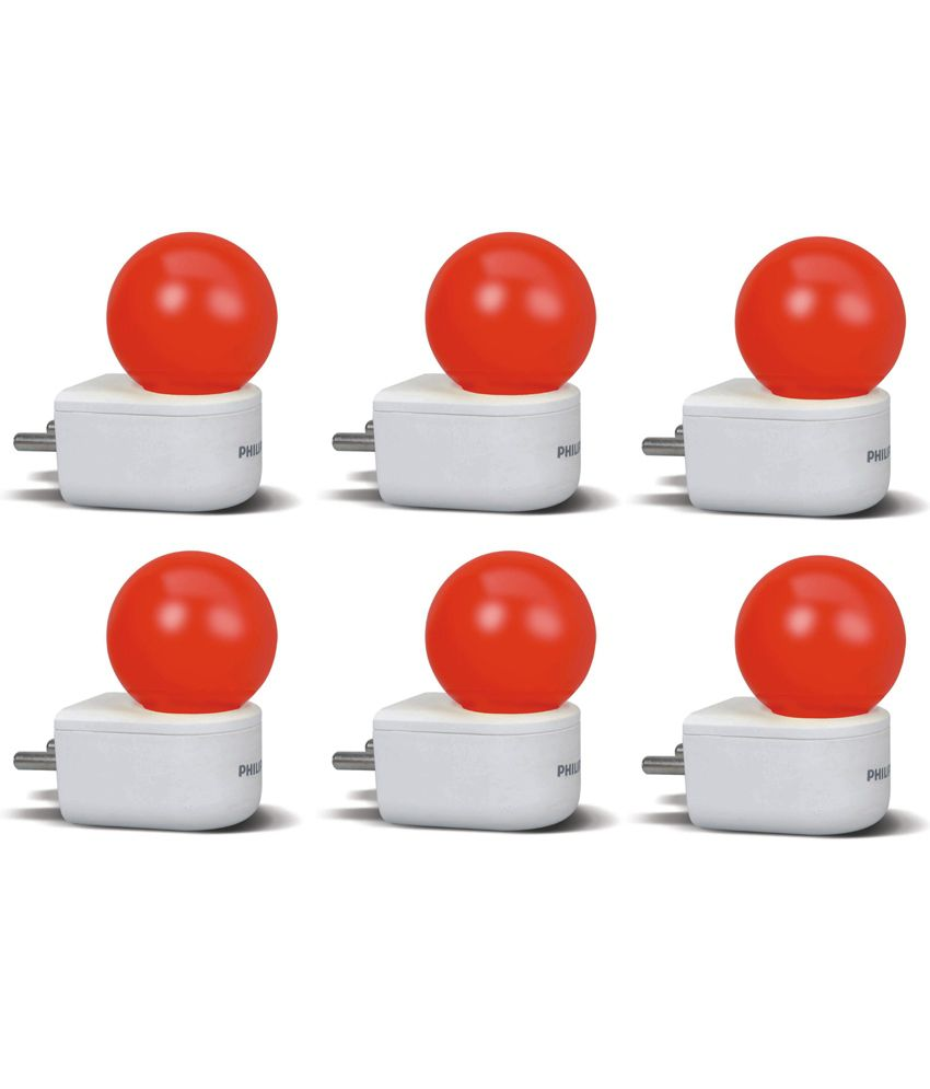 Philips-Led-Pack-Of-6-Joyvision-plug-N-Play-Bulbs-0.5-W