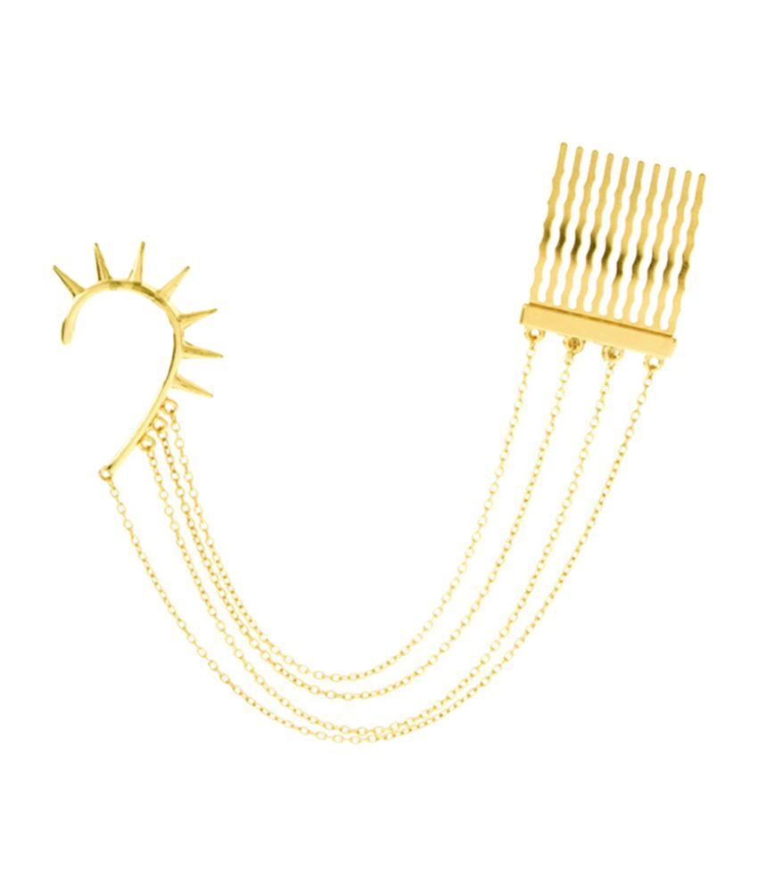 Young & Forever Slip-On Ear Comb Cuff for Women