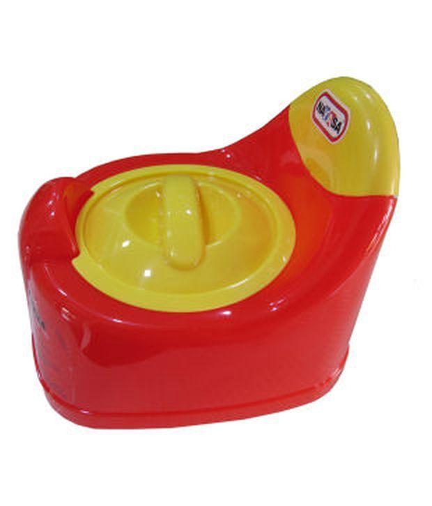 Nayasa Red Baby Potty Pot: Buy Nayasa Red Baby Potty Pot ...