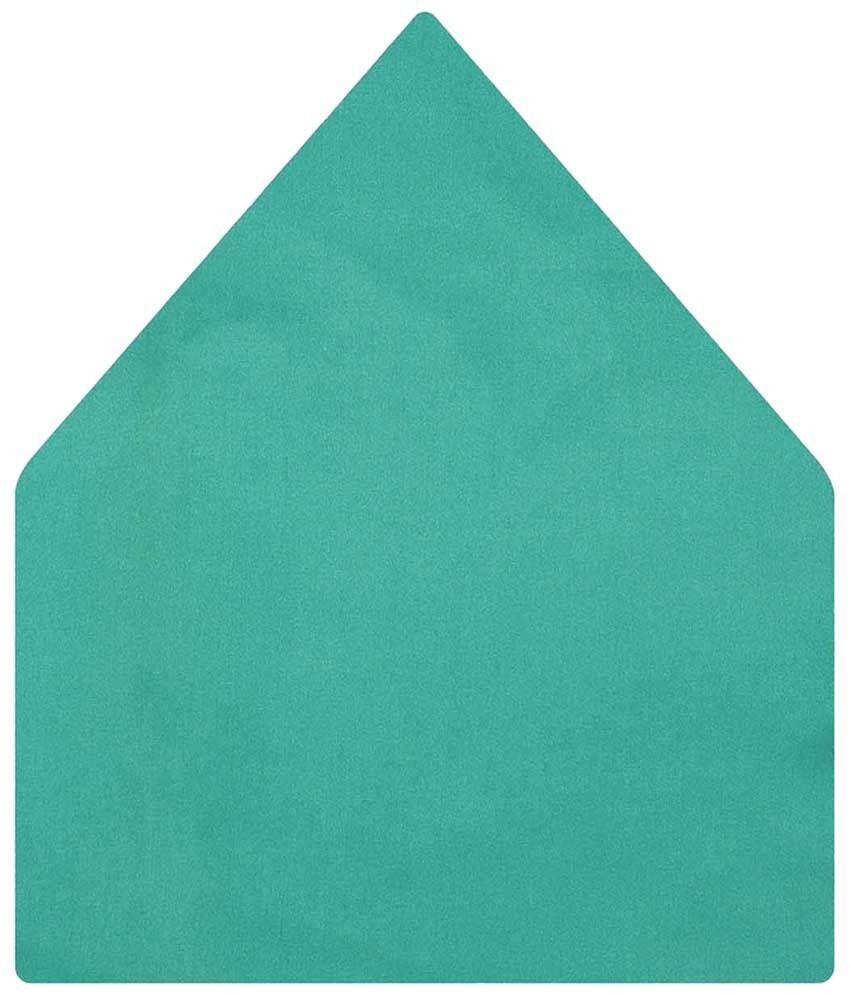 Tiekart Satin Green Pocket Square