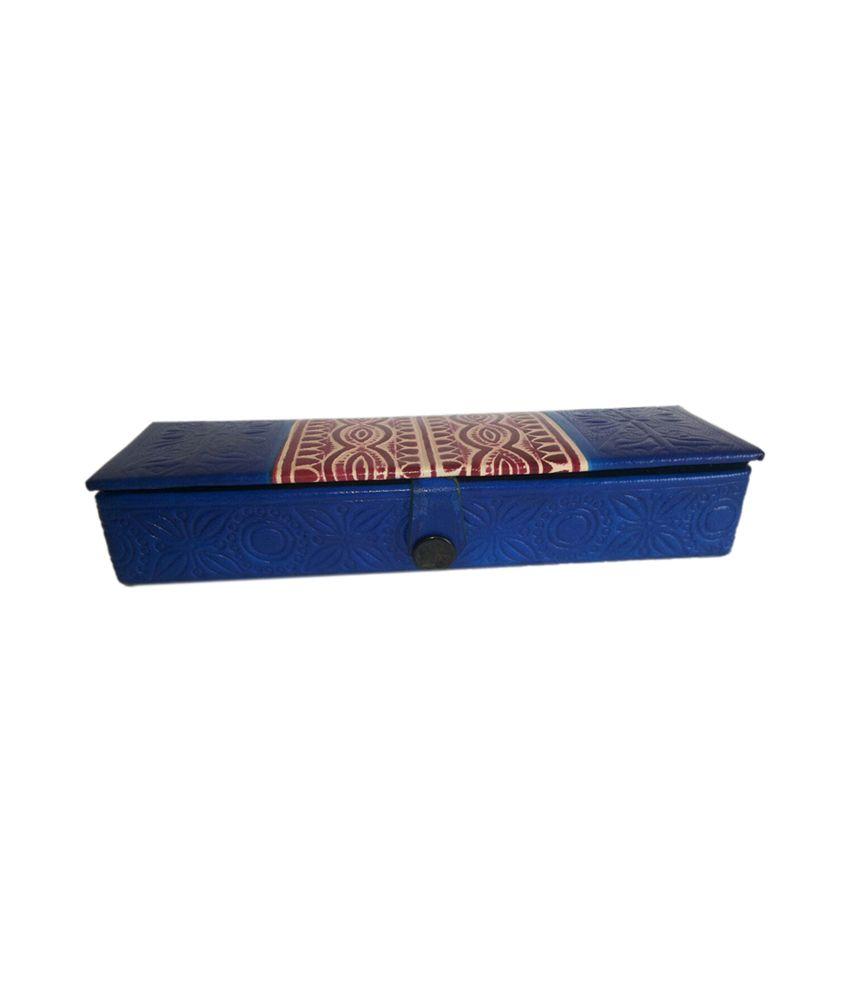 Joy's Collection Multicolour Leather Rectangular Pouch