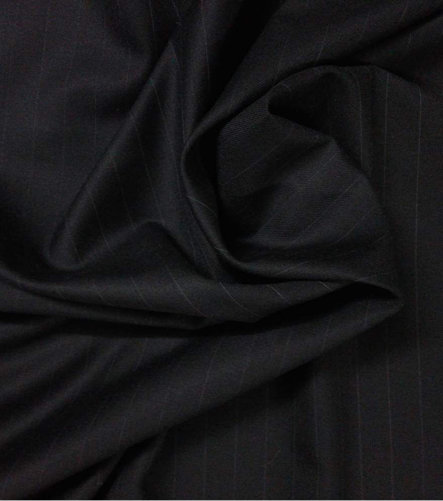 Raymond Black Suit Lengths Unstiched Fabric
