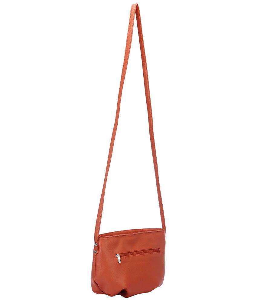 Caprese SGTAMSMCAR Orange Sling Bags - Buy Caprese SGTAMSMCAR ...