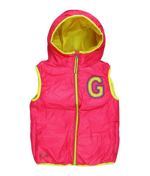 Ollington St. Collection Pink With Hood Padded Jacket