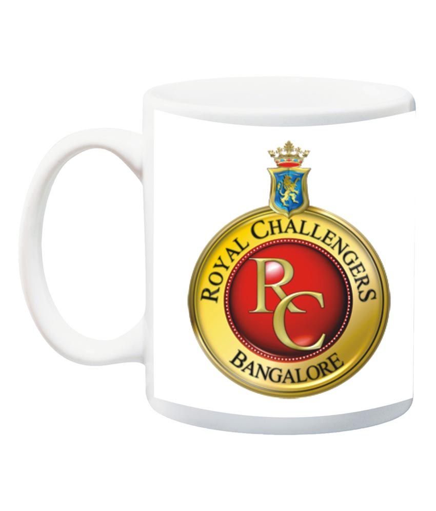 8f3e661c4fe2 Dk Royal Challengers Bangalore IPL Printed Mug  Buy Online at Best Price in  India - Snapdeal