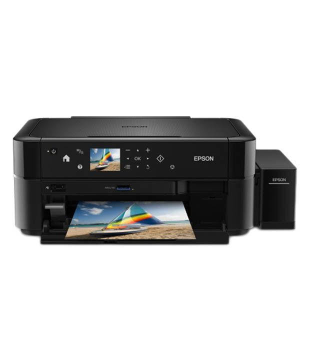Epson L850 Multifunction Photo Printer - Black