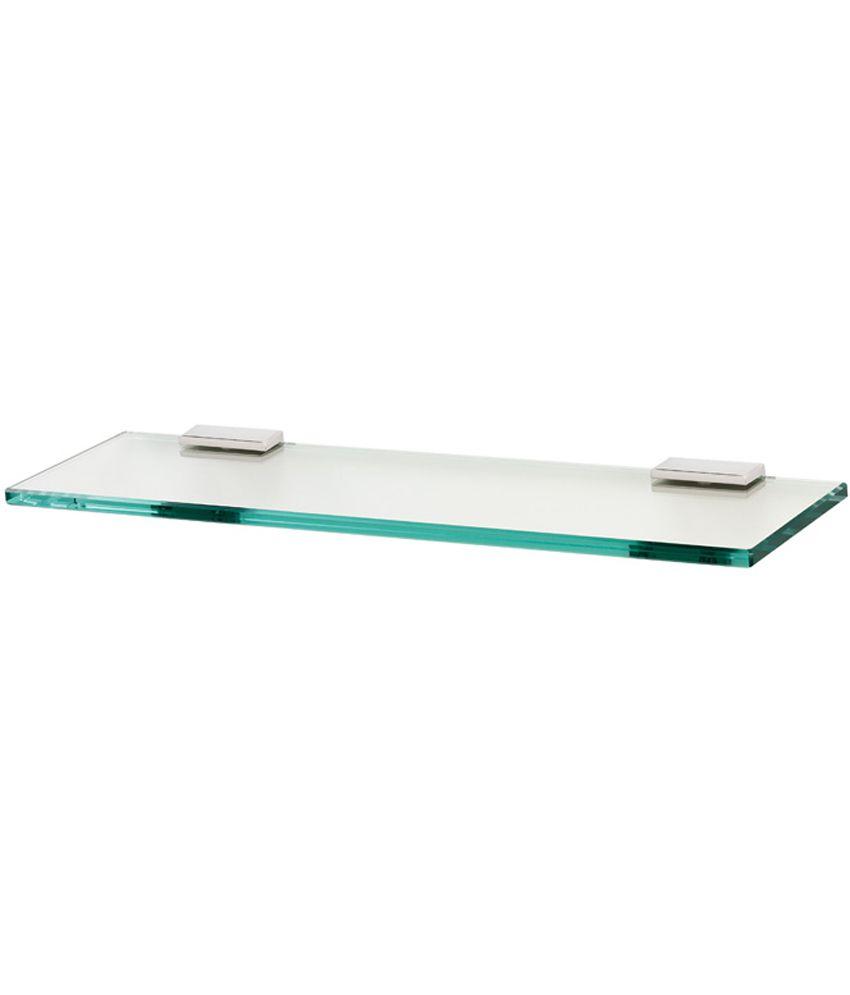Buy Fancy Glass 18inch X 6inch Corners with D-Bracket Bathroom ...
