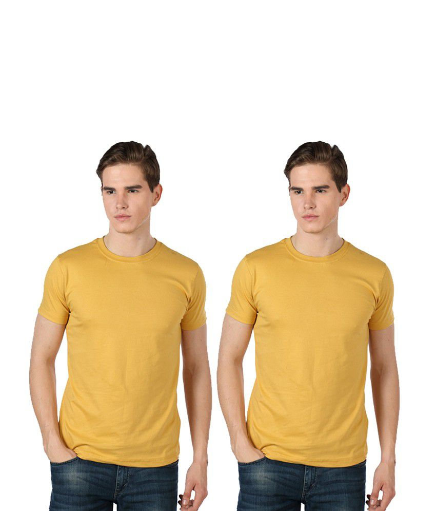 Rakshita's Mens round neck Tshirt Set of 2