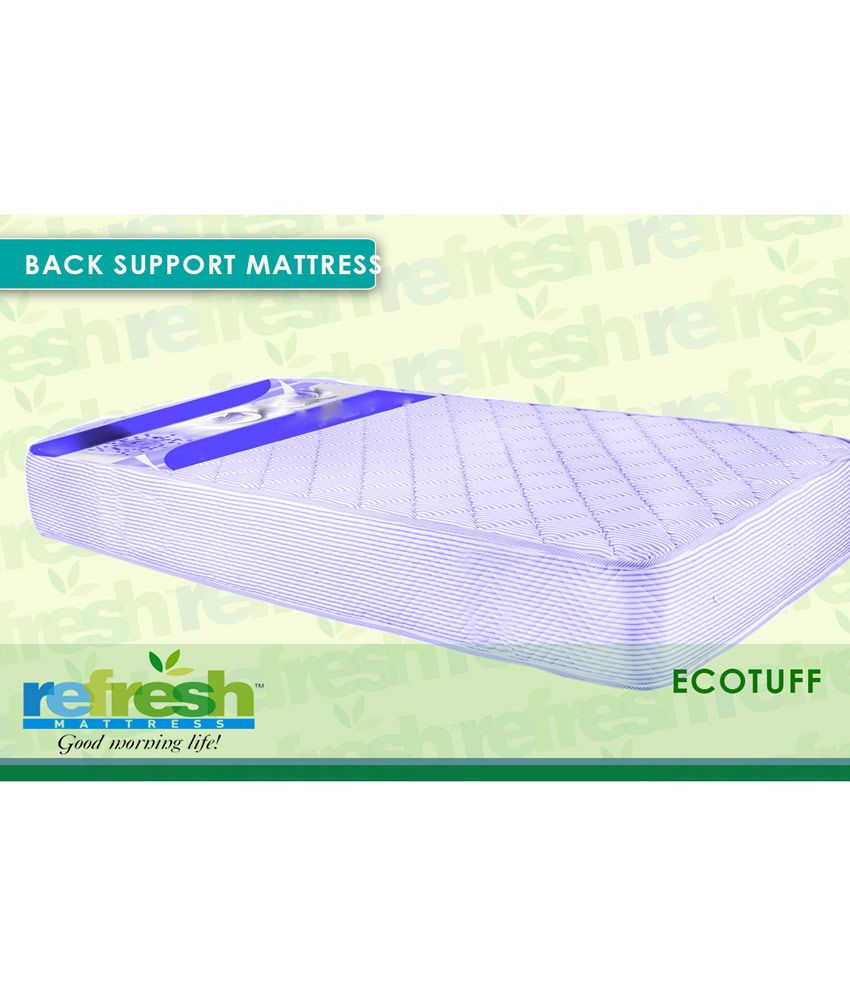 refresh cotton foam back o rest orthopedic mattress buy refresh