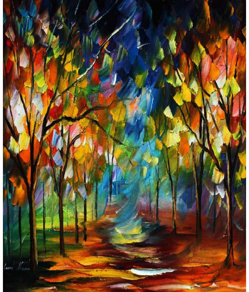 Wonder Images Pvt. Ltd. Pretty Woods Canvas Art