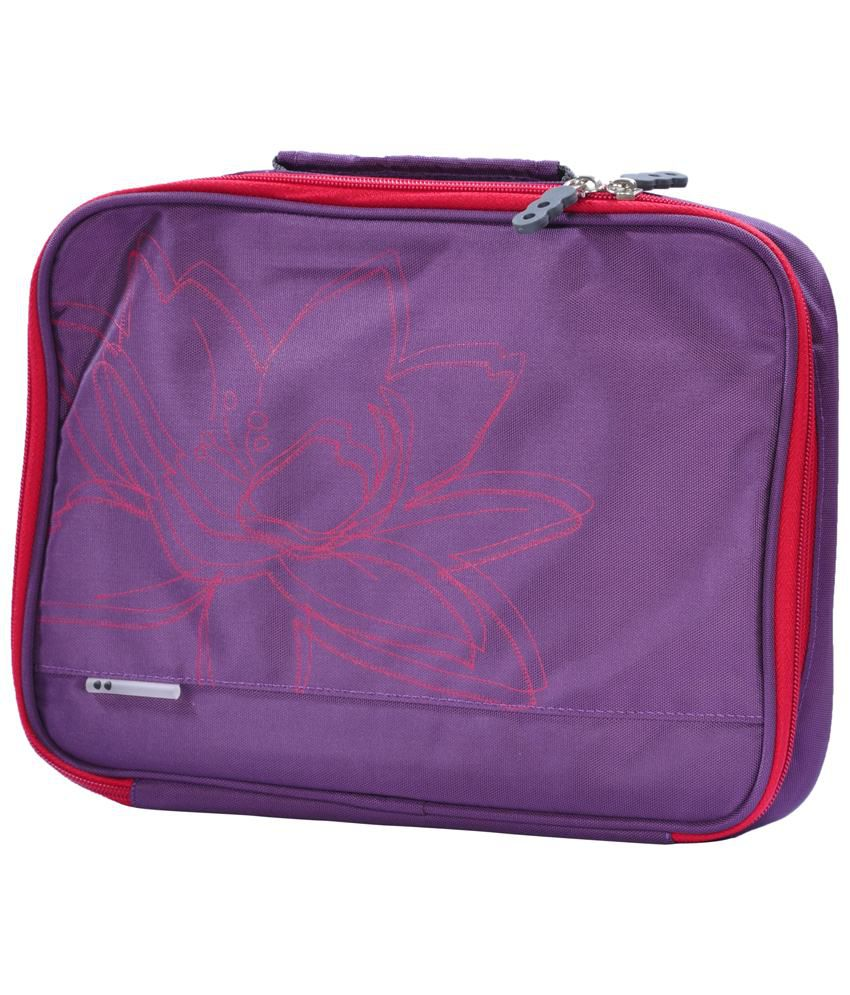 Classic Code Purple 10 Inch Laptop Sleeve