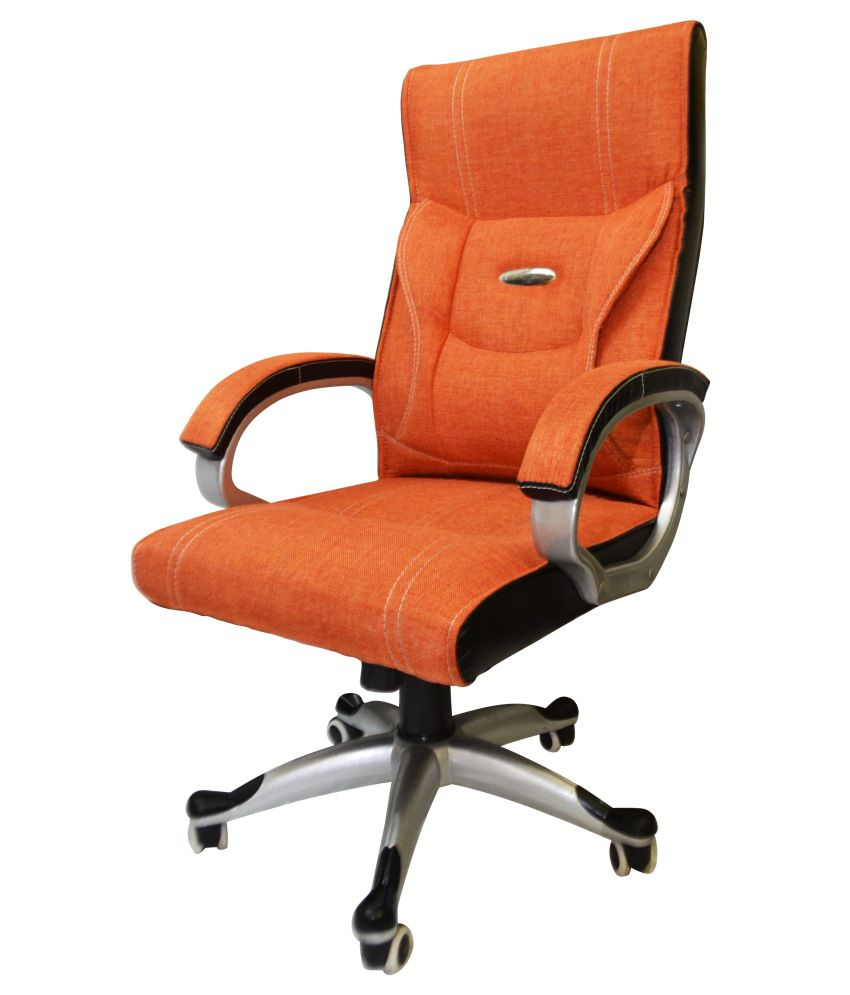 Office chair in orange