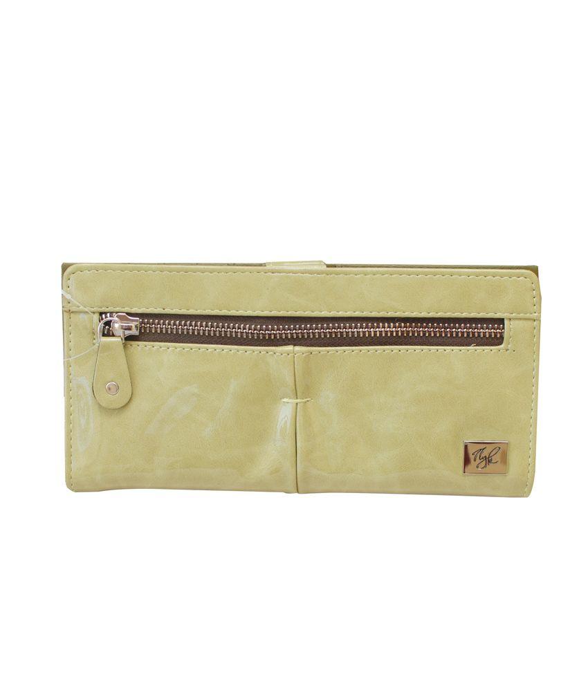 NYK Women's Green P.U. Wallet