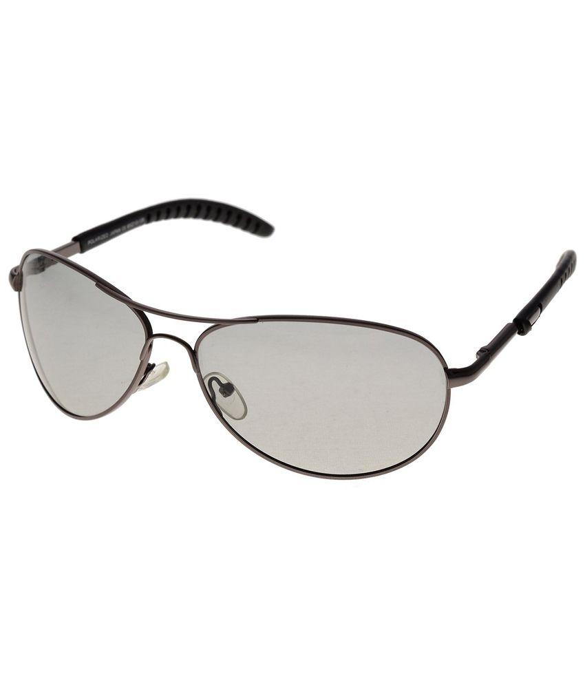Rhodopsin Grey Polarized Avaitor Uv Glare Protected Sunglasses